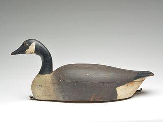 Hollow carved Canada goose, John Ramsay, Summerside, Prince Edward Island, 1st quarter 20th century.