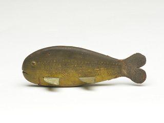 Rare and important sunfish decoy, Harry Seymour, Lake Chautauqua, New York, last quarter 19th century.