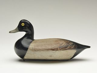 Rare and important early style bluebill, Charles Perdew, Henry, Illinois, circa 1900.
