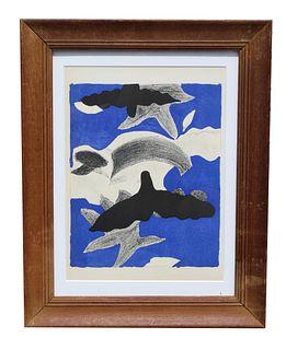 """Georges Braque """"Oiseaux"""""""