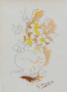 """Georges Braque """"Bouquet"""""""