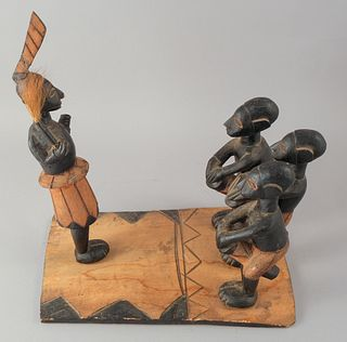 African Figural Group