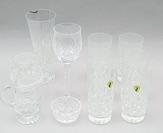 Lot of Waterford Lismore Crystal Stemware