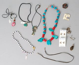 Lot of Sterling Silver and Stone Jewelry