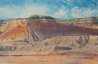 Merrill Mahaffey (American, b. 1937) Brookcliff Shadows, Utah, 1982