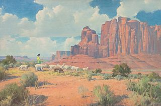 Karl Albert (American, 1911-2007) Navajo Beauty