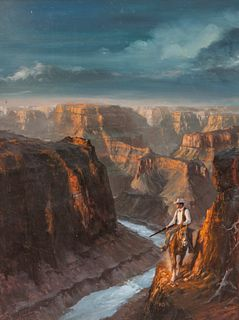 Robert Emil Schulz (American, 1928-1978) Grand Canyon
