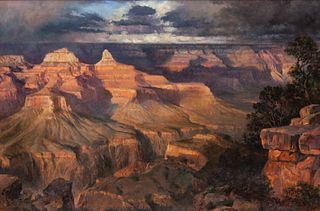 Earl Carpenter (American, b. 1931) Temple of Light