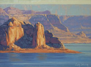 Cody DeLong (American, 20th Century) Lake Powell Layers