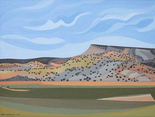 Joel Greene (American, b. 1953) La Bahada Hill, 2002