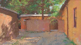 Albert Handell (American, b. 1937) Taos Entry