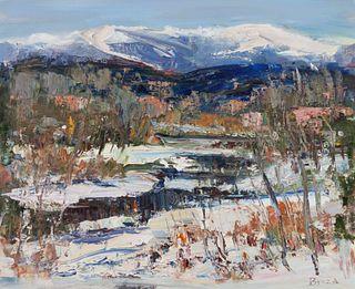 Joseph Breza (American, 20th Century) Winter NM