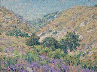 Gary Ray (American, b. 1952) Santa Monica Mountains