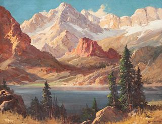 Robert Wood (American, 1889-1979) Colorado Grandeur