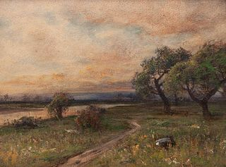 Harvey Otis Young (American, 1840-1901) Landscape