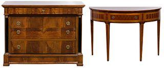 Decorative Crafts, Incorporated Italian Parquetry Furniture