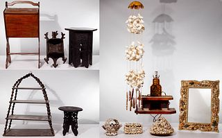 Furniture and Decorative Object Assortment