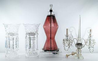 Barovier & Toso 'Vania' Murano Table Lamp