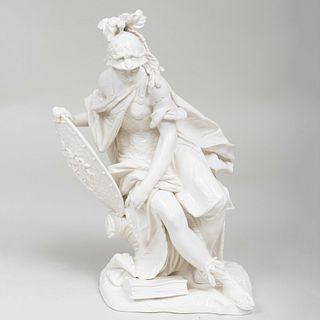 Nymphenburg Porcelain Figure of Athena