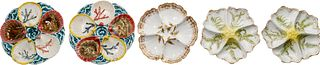 Wedgwood Majolica Oyster Plates