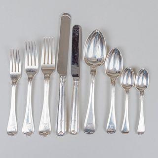 George V Silver Flatware Service