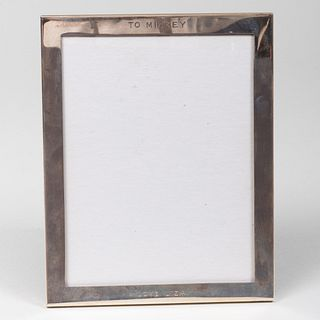 Tiffany & Co. Silver Picture Frame Inscribed from Liza Minelli