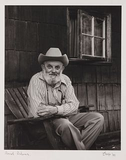 Ovak Arslanian (20th Century) Portrait of Ansel Adams, 1975