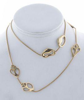 Angela Cummings Tiffany & Co. 18K Shell Necklace