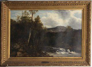 Frederick R. Lee Landscape Oil on Canvas