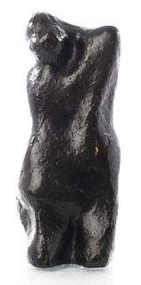 "Jean Cardot ""Embracing Couple"" Modern Bronze, 1968"