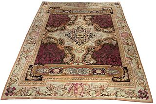 French Aubusson Tapestry / Carpet, 19th Century