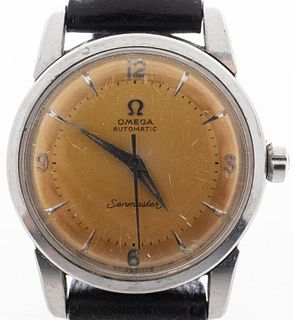 Omega Seamaster Automatic Stainless Steel Watch