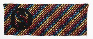 Chanel Cashmere Multicolor Logo Scarf