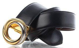 Cartier Reversible Leather 'Trinity' Belt
