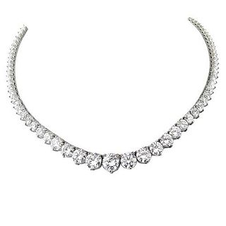 42.00 Ct Diamond Necklace
