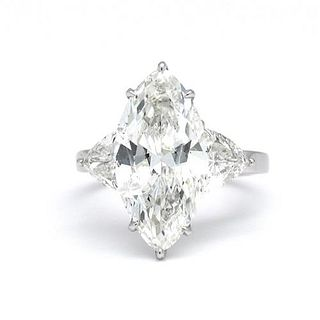 5.77 Ct Diamond Engagement Ring