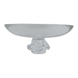 Footed Crystal Bowl by Steuben