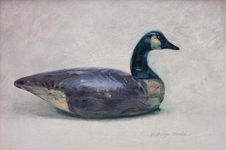 Eldridge Hardie (American, b. 1940) Canada Goose Decoy