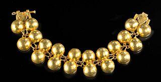 Exceptional Roman Gold Bracelet, ex-Sotheby's