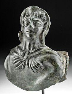 Roman Bronze Herakles Attachment, ex-Royal Athena