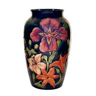 Large Moorcroft Pottery Rachel Bishop Vase, Tigris