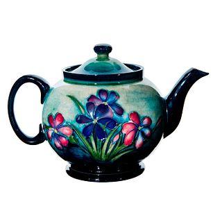 Moorcroft Art Pottery Floral Teapot