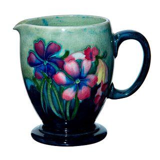 Moorcroft Art Pottery Creamer, Signed