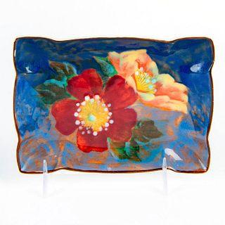 Small Royal Doulton Wild Roses Tray D6227