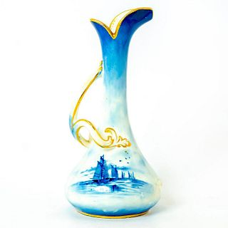 George and Sons, Miniature Vase With Handle