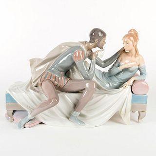 Othello and Desdemona 01001145 LTD - Lladro Porcelain Figurine