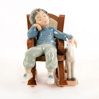 All Tuckered Out 1005846 - Lladro Porcelain Figure
