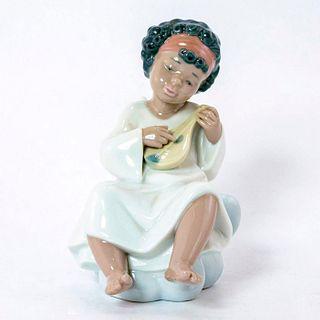 An Angel's Tune 1006490 - Lladro Porcelain Figurine