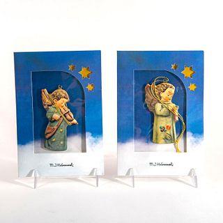 Set of 2 Hummel Ornaments