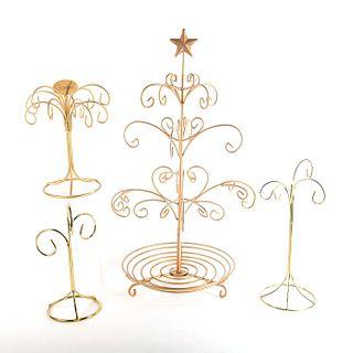 Goebel Hummel, Set of 4 Ornament Trees